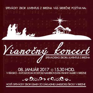 Vianočný koncert zboru Juventus